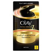Olay Total Effects Moisturiser and Touch of MaxFactor Foundation - Medium SPF 15 (50ml)