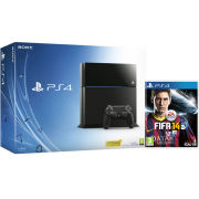 PS4: New Sony PlayStation 4 500GB Console - Includes FIFA 14