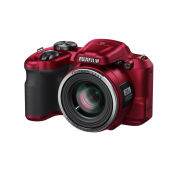 Fujifilm FinePix S8600 Bridge Camera (16MP, 36x Optical Zoom, 3 Inch LCD) - Red