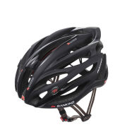 Ranking Feather Cycle Helmet - Shiny/Matt Black