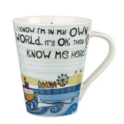 In My Own World Flight Mug