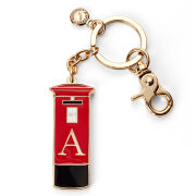 Aspinal of London London Letter Box Keyring - Red