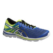 Asics Men's Gel-Electro 33 Natural Running Shoes - Blue/Silver/Flash Yellow