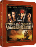 Pirates of the Caribbean: The Curse of the Black Pearl - Zavvi Exclusive Limited Edition Steelbook (3000 Only)