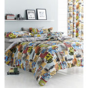 Catherine Lansfield Retro Vintage Bedding Set - Multi