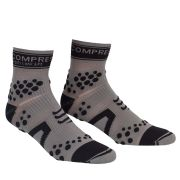 Compressport Pro Racing Socks - Trail - Grey/Black
