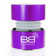 BassBoomz High Performance Portable Bluetooth Speaker - Purple