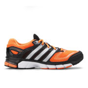 adidas Men's Response Cushion 22 Trainers - Solar Zest/Metalic Silver/Black
