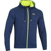 Under Armour Men's CC Storm Transit FZ Hoody - Heather Jean/High-Vis Yellow