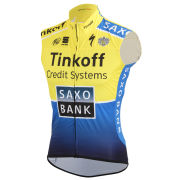 Tinkoff Saxo Team Replica Gilet - Yellow/Blue