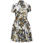 Antipodium Women's Basset Shirt Dress - Hounds of Love Print