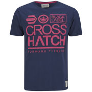 Crosshatch Men's Large-Go T-Shirt - Navy