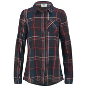 Vero Moda Women's Tulle Checked Shirt - Winetasting