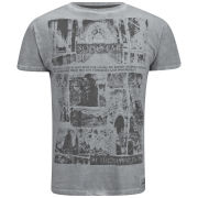 Soul Star Men's Graves T-Shirt - Grey