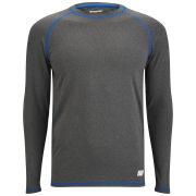 Мужская спортивная футболка Myprotein с длинными рукавами - Серый цвет