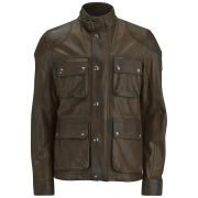 Belstaff Men's Burgess Leather Jacket - Acid Brown