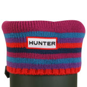 Hunter Unisex Striped Cuff Welly Socks - Multi Brights