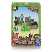 Minecraft Papercraft Over 30 Piece Set - Hostile Pack