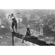 Men On Girder Tee Time - Maxi Poster - 61 x 91.5cm