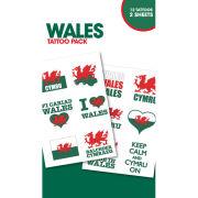 Wales Symbols - Tattoo Pack