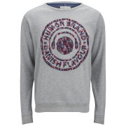 Humor Men's Stops Sweatshirt - Light Grey