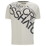 Crosshatch Men's Laydown T-Shirt - White