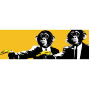 Monkeys Bananas - Midi Poster - 30.5 x 91.5cm