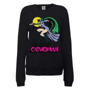DC Comics Sweatshirt Catwoman - Black