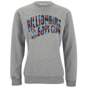 Billionaire Boys Club Men's Arch Logo Crew Neck Sweatshirt - Heather Grey