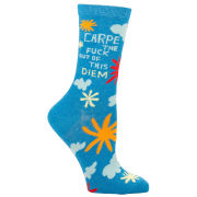 Carpe the F*ck Out of This Diem Socks