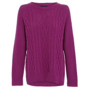 Damned Delux Women's Francis Knitted Jumper - Mulberry