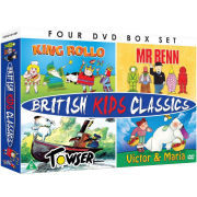 British Kids Classics: Mr Benn, King Rollo, Towser, Victor and Maria