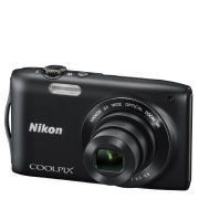 Nikon Coolpix S3300 Compact Digital Camera (16MP, 6x Optical, 2.7 Inch LCD) - Black - Grade A Refurb