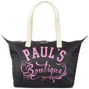 Paul's Boutique Betty Logo Print Tote Bag - Black