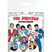One Direction Cartoons - Badge Pack