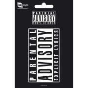 Parental Advisory - Vinyl Sticker - 10 x 15cm