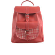 Grafea Exclusive to MyBag Ladybird Leather Rucksack - Red