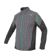 Saucony Men's Kinvara Nomad Jacket - Black/Green Light