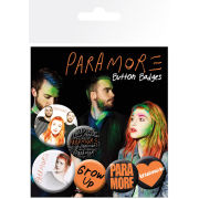 Paramore Logos - Badge Pack
