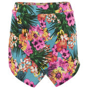 Influence Women's Tropical Print Skort - Multi