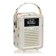 View Quest Retro Mini Emma Bridgewater Bluetooth DAB+ Radio - Polka Dot