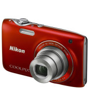 Nikon Coolpix S3100 Compact Digital Camera - Red - Grade A Refurb