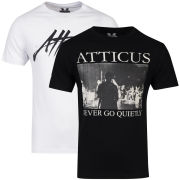 Atticus Men's 2-Pack Stage & Barre T-Shirts - Black/White