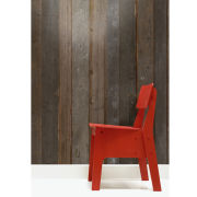 NLXL Scrapwood Wallpaper by Piet Hein Eek - Brown