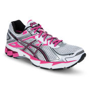 Asics Women's Gt-1000 2 Running Trainers - White/Black/Flash Pink