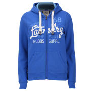 Tokyo Laundry Women's Miah Zip Through Hoody - Beach Blue