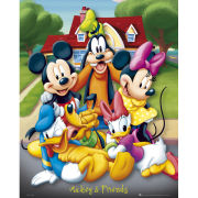 Mickey Mouse And Friends - Mini Poster - 40 x 50cm