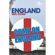 England Come On - Vinyl Sticker - 10 x 15cm