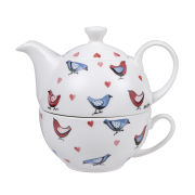 Alex Clark Lovebirds Teapot for One