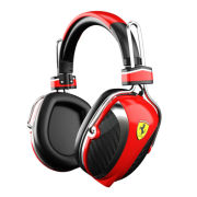 Ferrari P200 Scuderia Noise Cancelling Headphones by Logic3 - Red